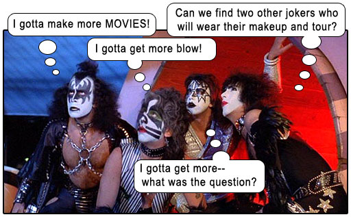 Kiss Meets The Phantom Of The Park Poffy S Movie Mania