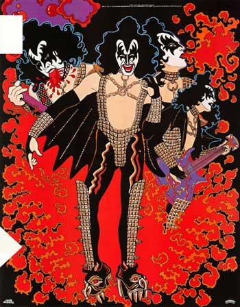 KISS_GeneSimmons-poster